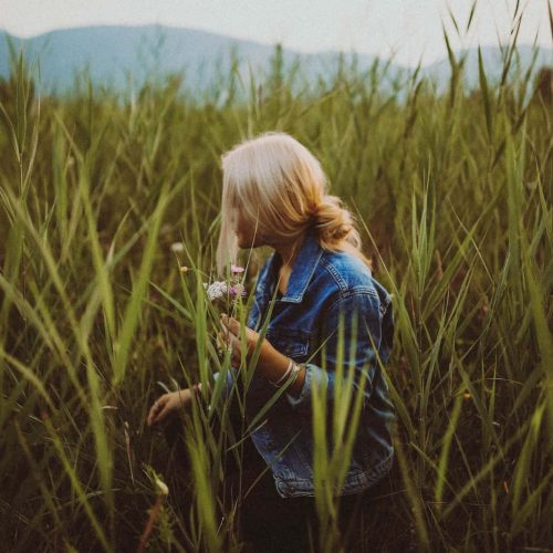 Canva - Woman Standing on Field-2